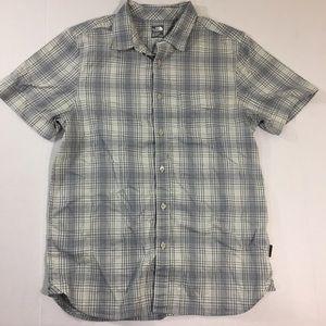 Men's The North Face Plaid Button Front Shirt M